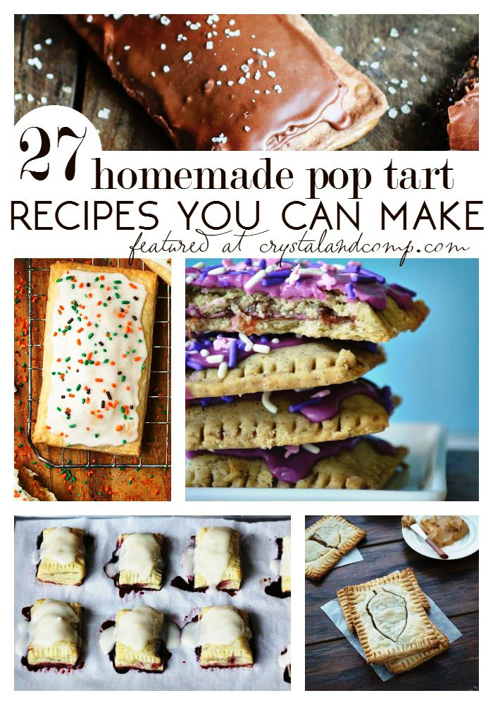 27 homemade pop tart recipes you can make  (1)