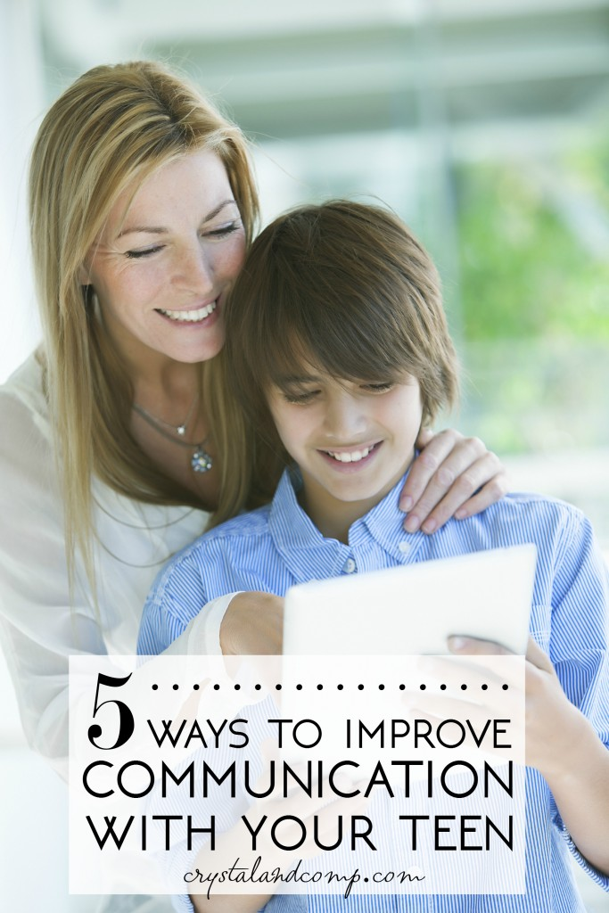 5 ways to improve communication with your teen