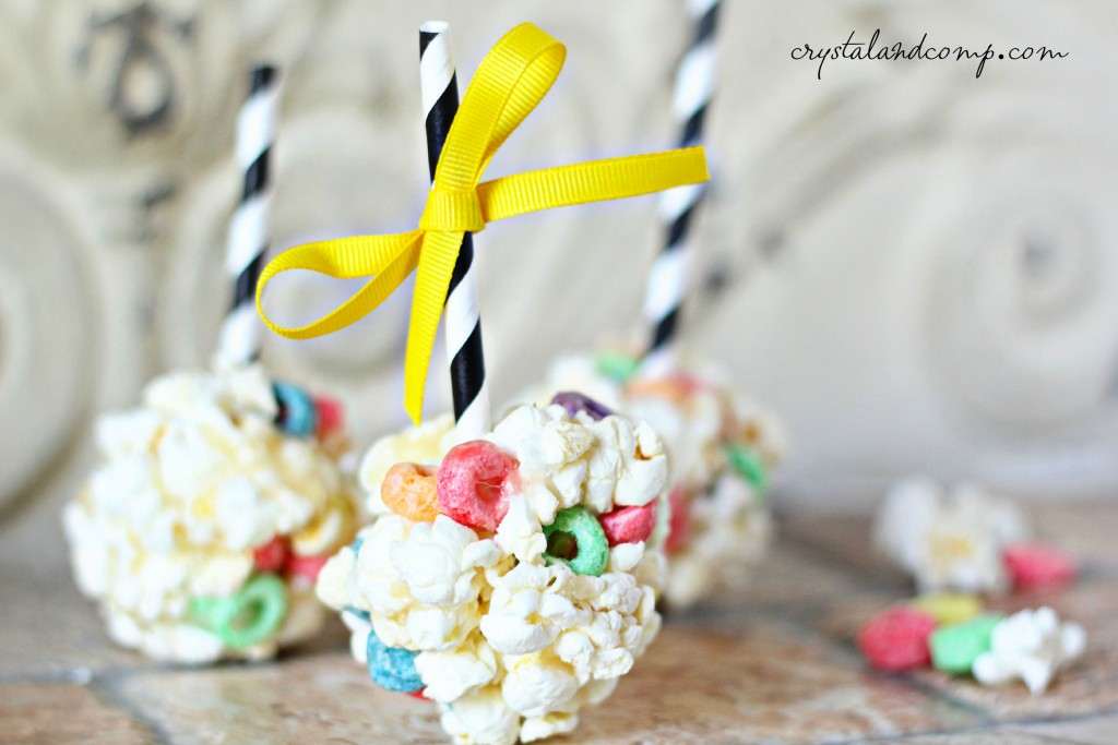 charlie brown popcorn balls for peanuts movie