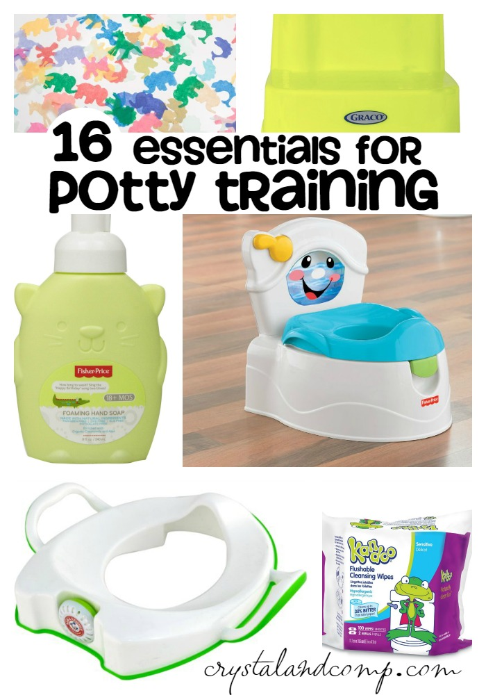 essentials for potty training