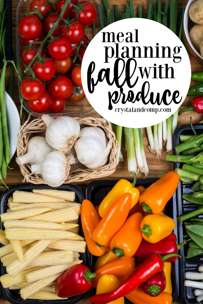 meal planning with fall produce