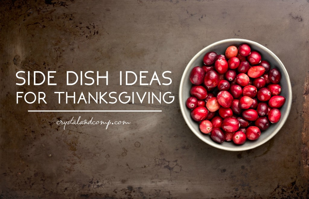 side dish ideas for thanksgiving
