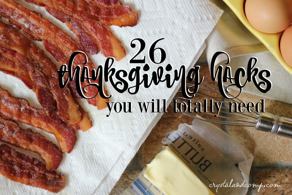 thanksgiving hacks you will need