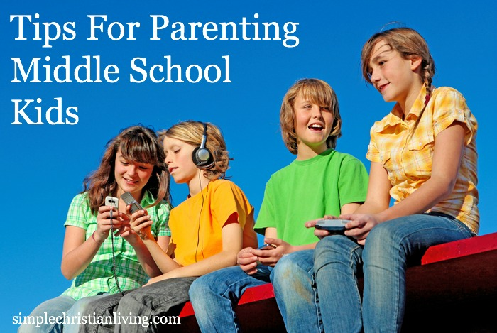 tips for parenting middle school kids