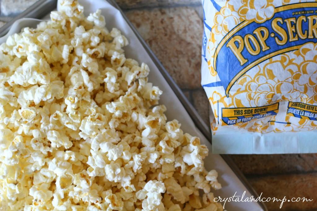 use pop secret popcorn to make popcorn balls