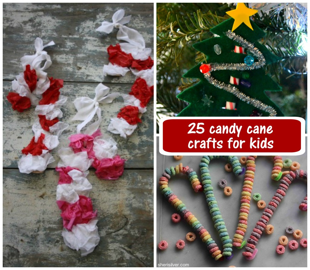 25 candy cane crafts for kids