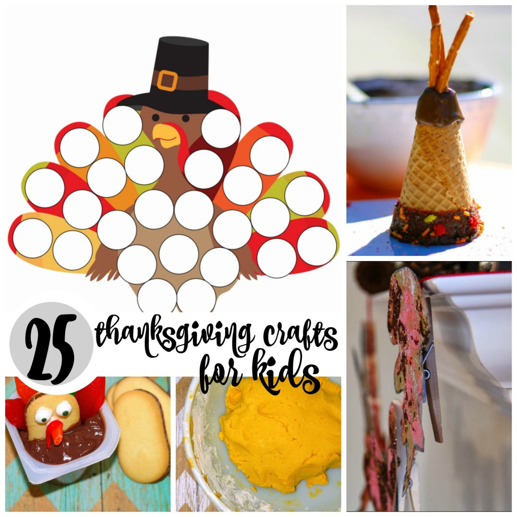 25 Thanksgiving Crafts For Kids