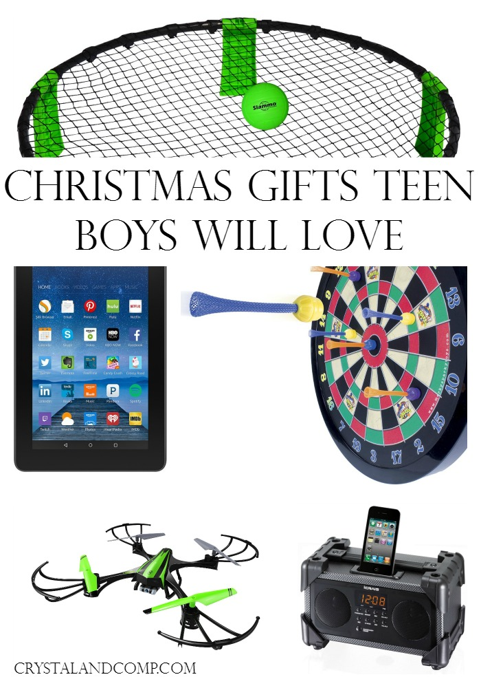 Christmas Gifts Teen Boys will Love