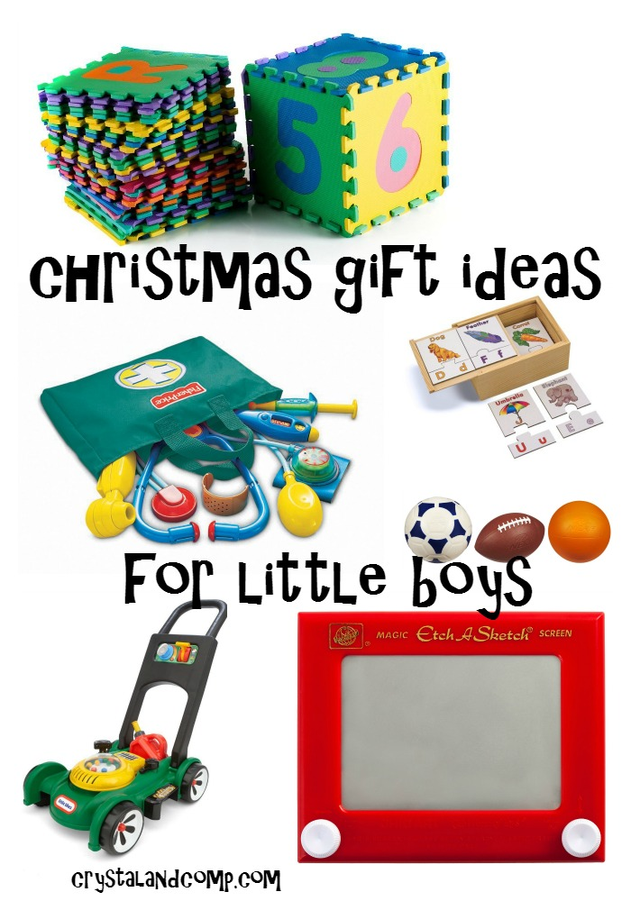 Christmas gift ideas for little boys