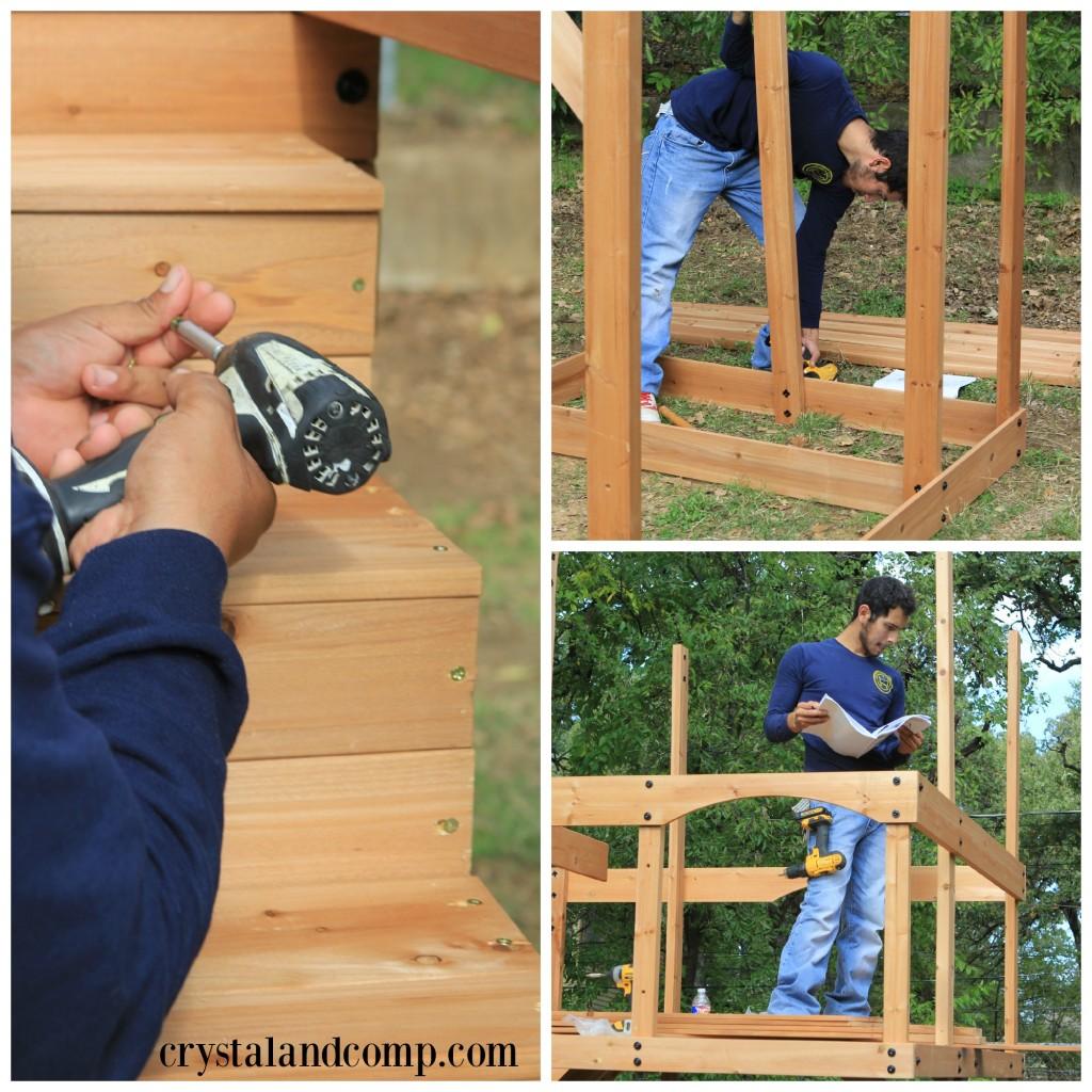 Oceanview Wooden Swing Set 2