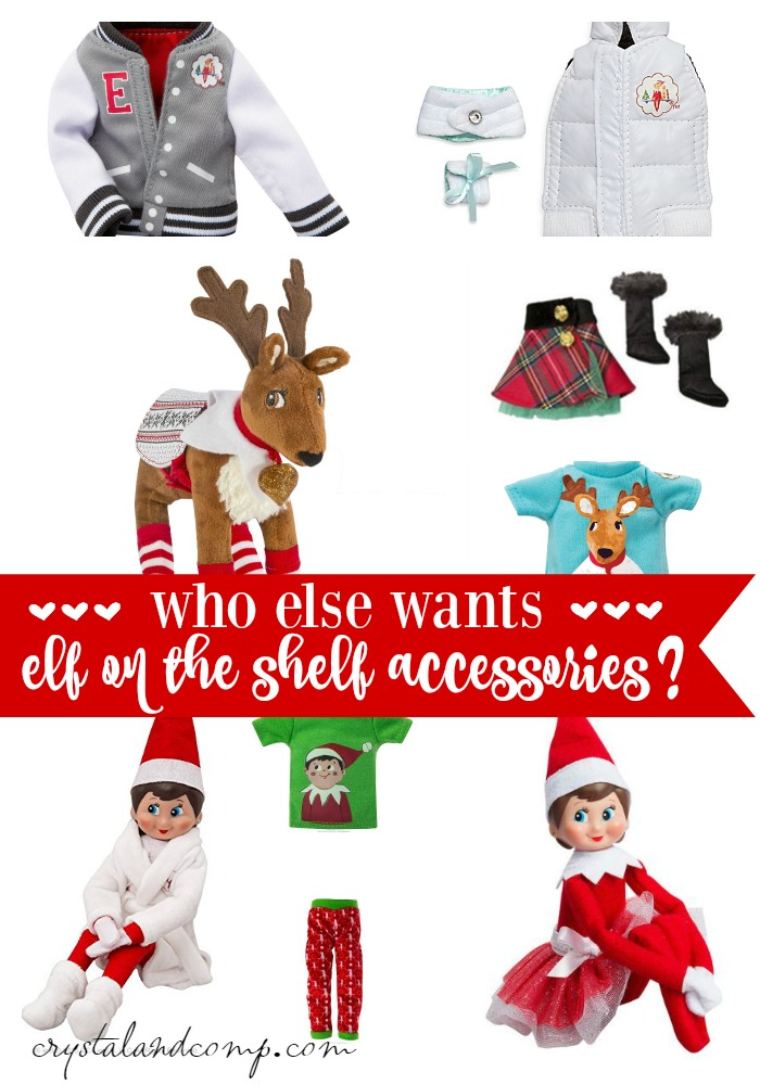 WHO ELSE WANTS ELF ON THE SHELF ACCESSORIES