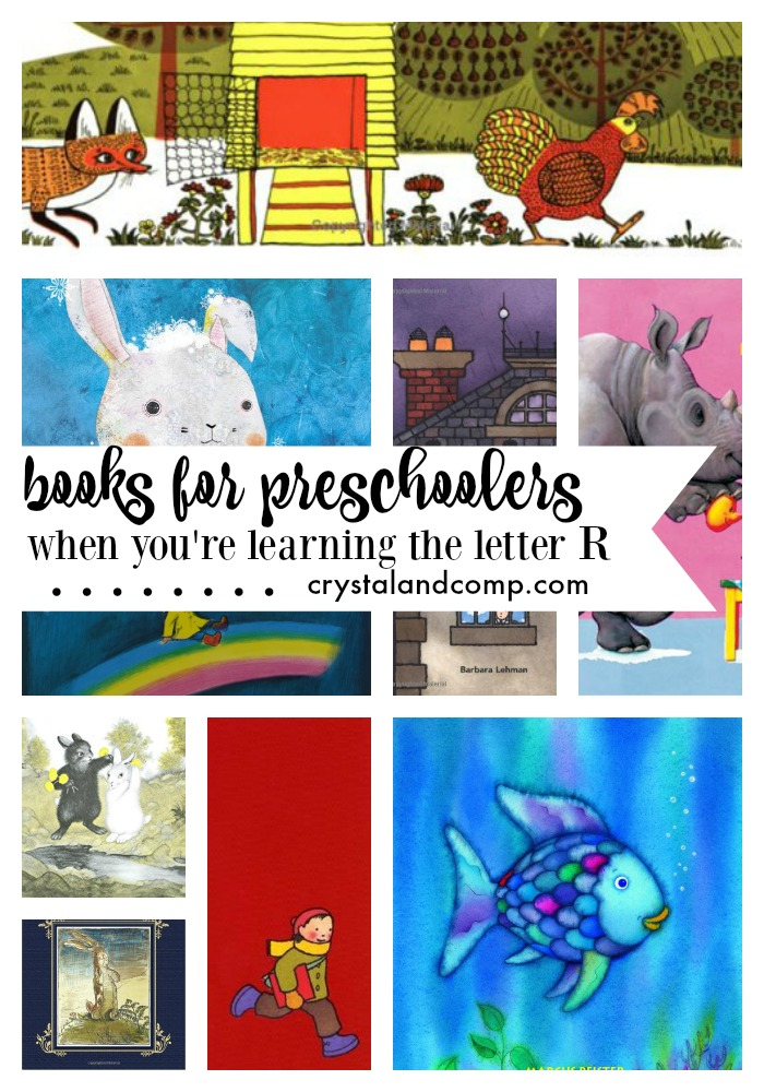 books for preschoolers when you're learning the letter r