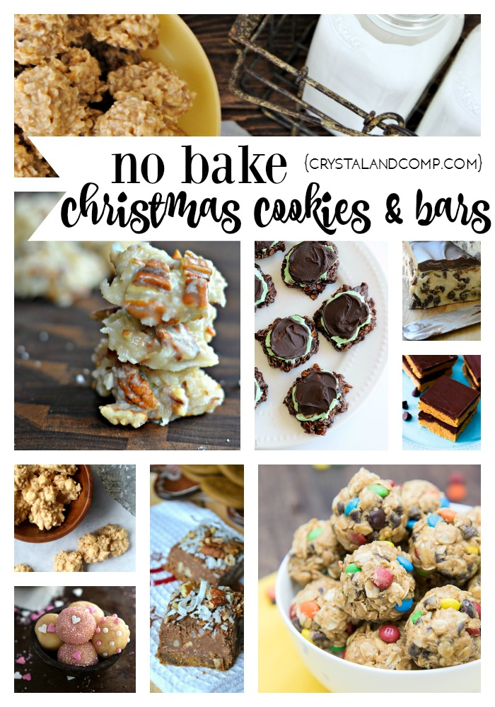 27 Irresistible No Bake Cookies And Bars For Christmas