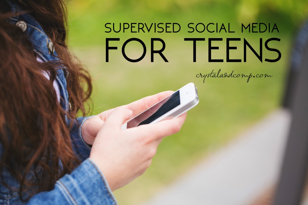 supervised social media for teens