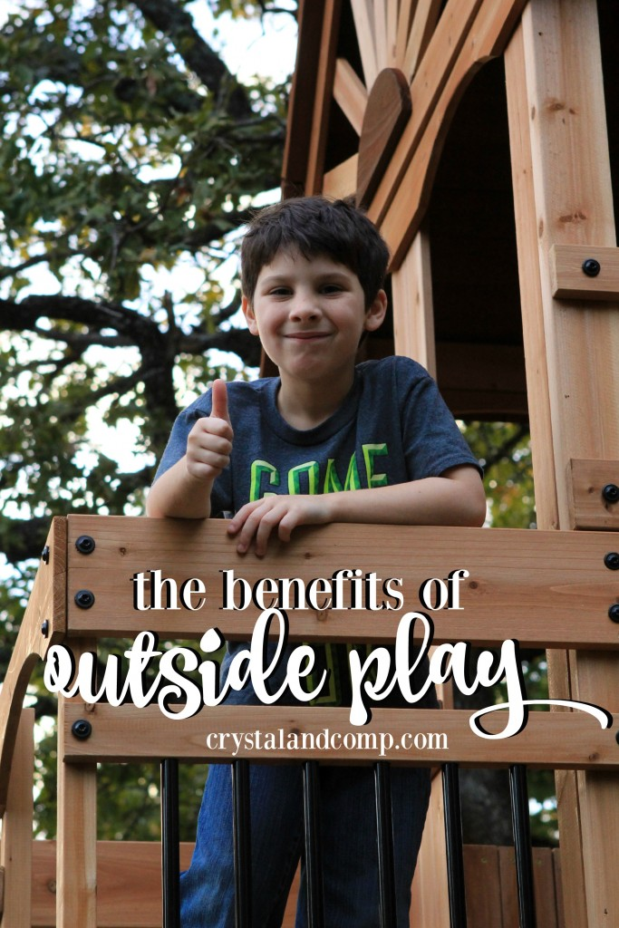 the benefits of outside play for children