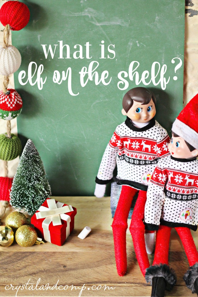 what is elf on the shelf