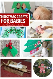 26 Christmas Crafts For Babies and Toddlers