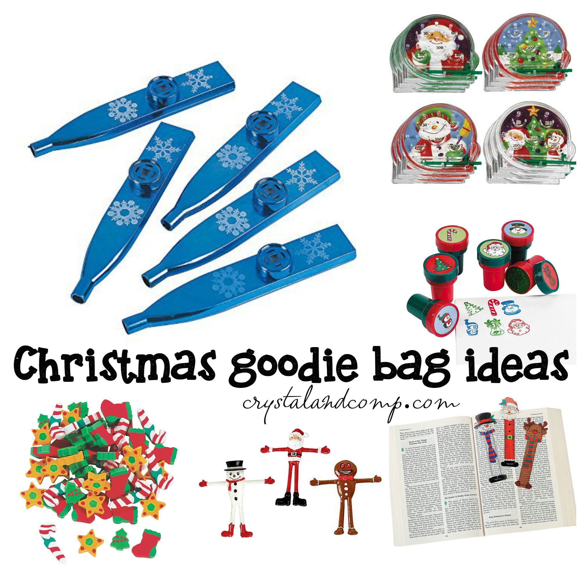 Christmas Goodie Bag Ideas