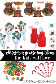25 Things to Put in Christmas Goodie Bags for Kids