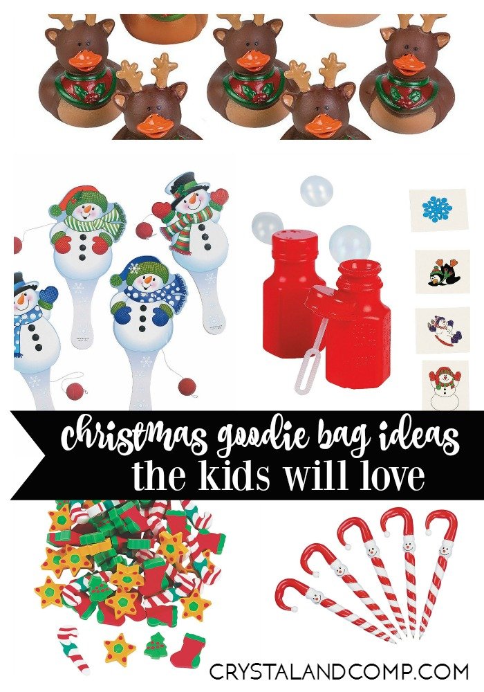 christmas goodie bag ideas kids will love