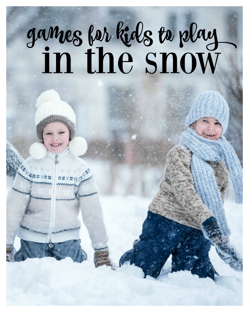 games for kids to play in the snow