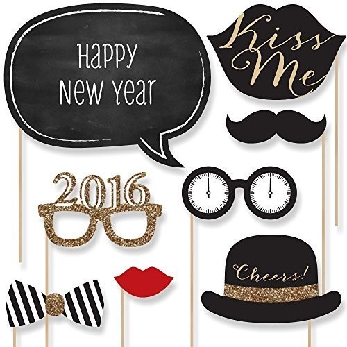 New Years Photo Booth Props Crystalandcompcom