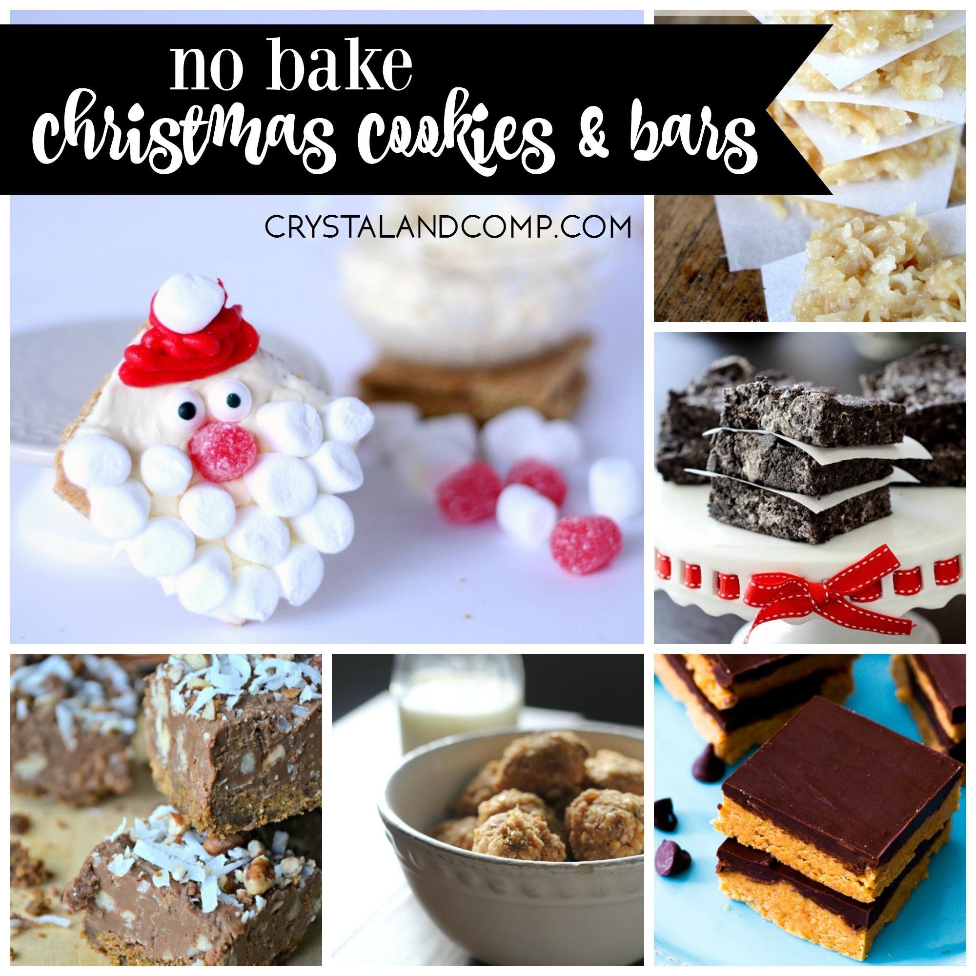 27 Irresistible No Bake Cookies and Bars For Christmas ...