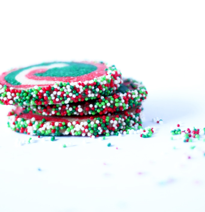 pinwheel-cookies-red-and-green- for Christmas