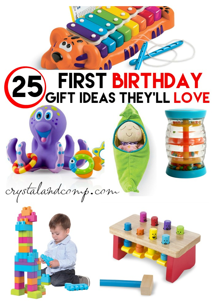 25 first birthday gift ideas