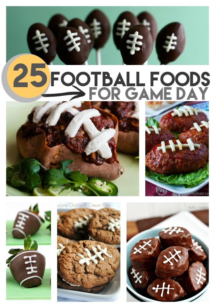 25 football foods for game day