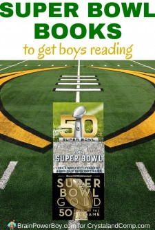 Super Bowl Books to Get Boys Reading