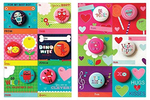 button valentines