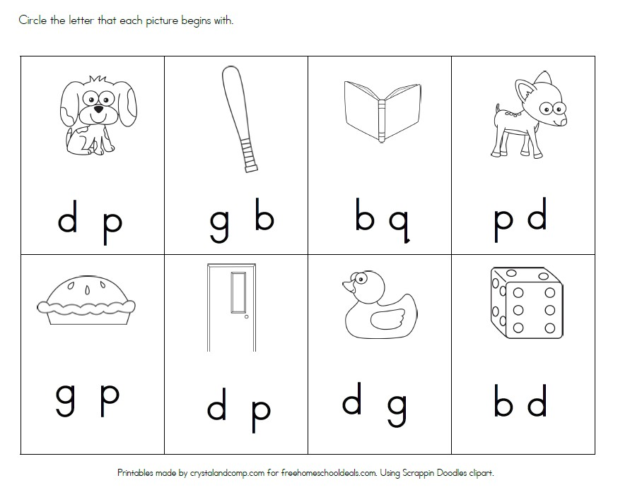 FREE LETTER D WORKSHEETS Instant Download – Letter D Worksheets Kindergarten