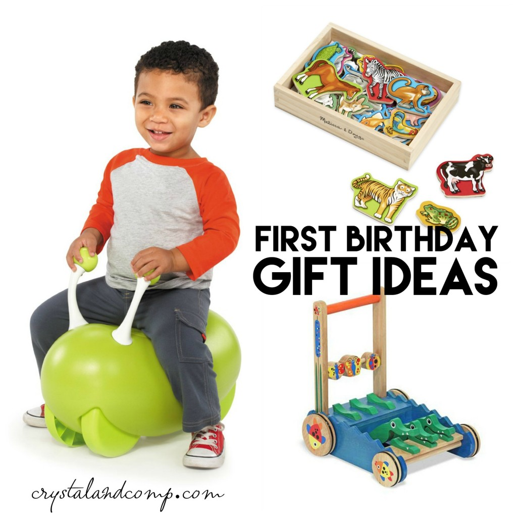 Ultimate Gift Idea List For A First Birthday