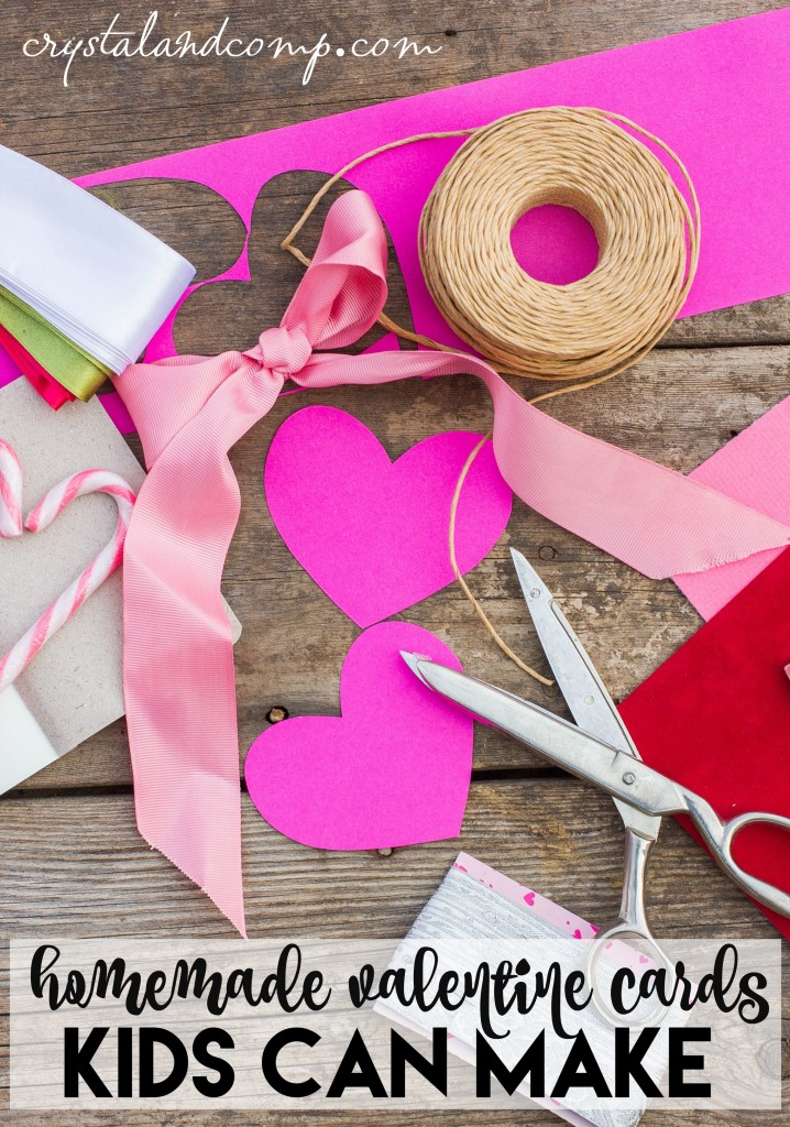Homemade Valentine Cards for Kids – Homemade Kids Valentine Cards