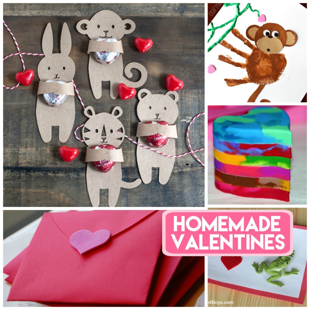 Homemade Valentine Cards for Kids – Creating Valentine Cards