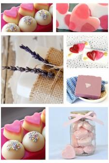 25 DIY Valentine Soap Ideas and Bath Fizz Recipes