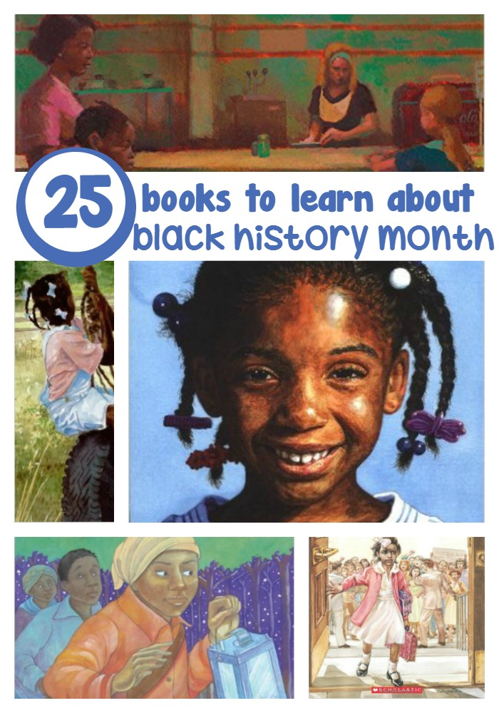 25 books to learn about black history month
