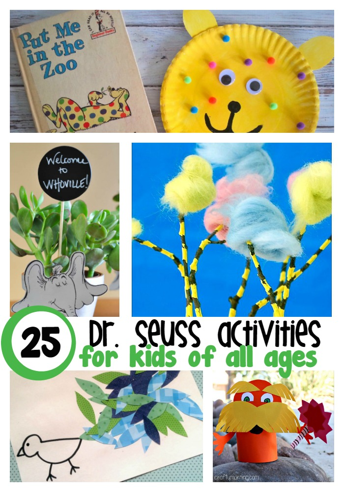 25 dr seuss activities for kids of all ages