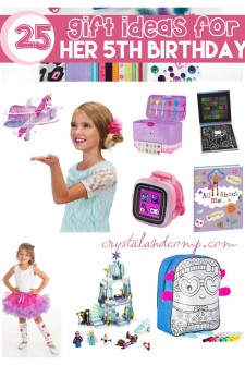 25 Awesome Gift Ideas for Her 5th Birthday