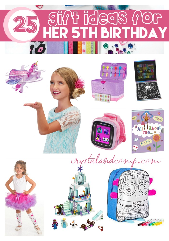 25 Gift Ideas For Her 5th Birthday