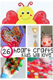 "26 Totally ""Heart"" Felt Crafts For Kids"