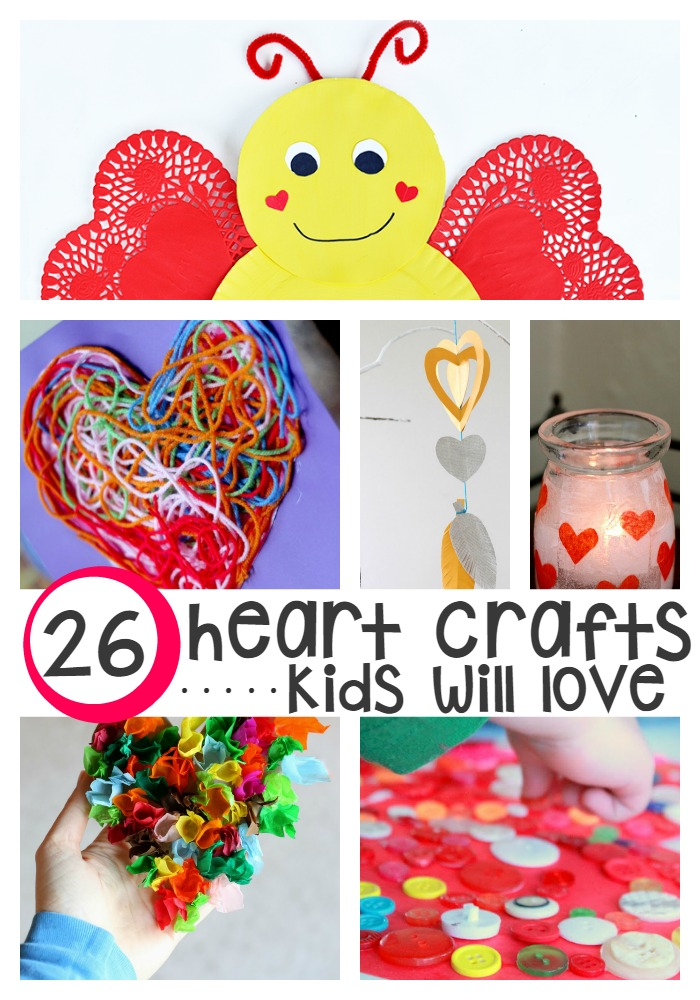 Easy Valentine Crafts For Toddlers