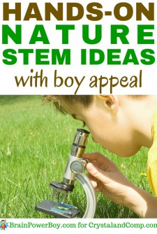Who Else Wants Nature STEM Ideas with Boy Appeal