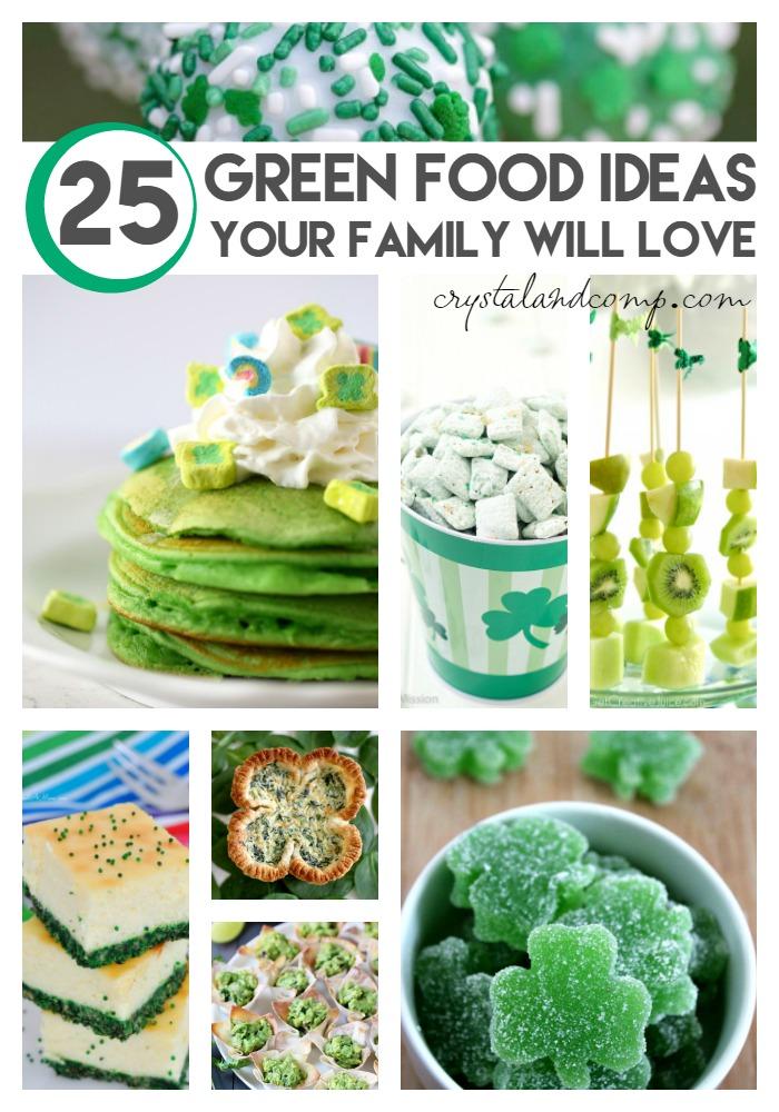 green food ideas