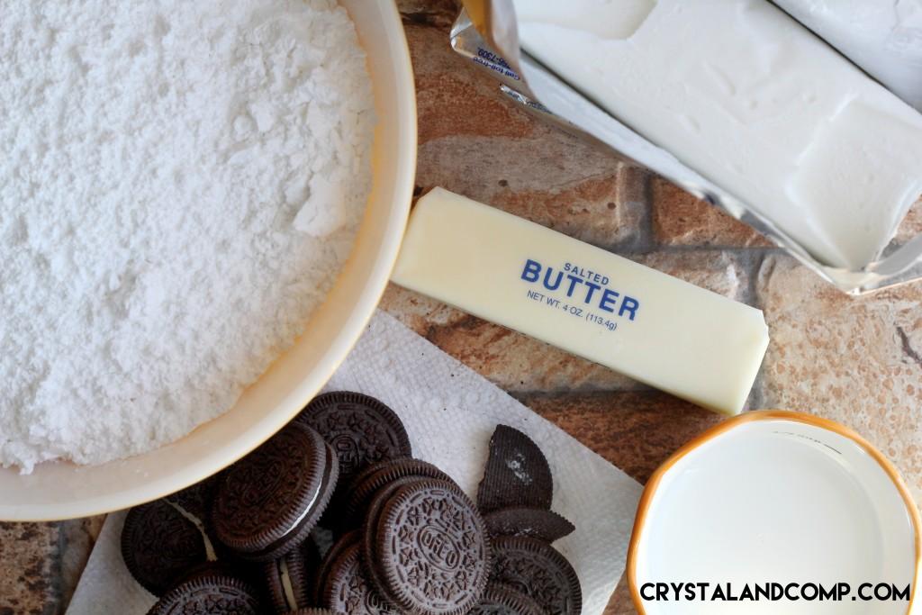 homemade buttercream oreo icing