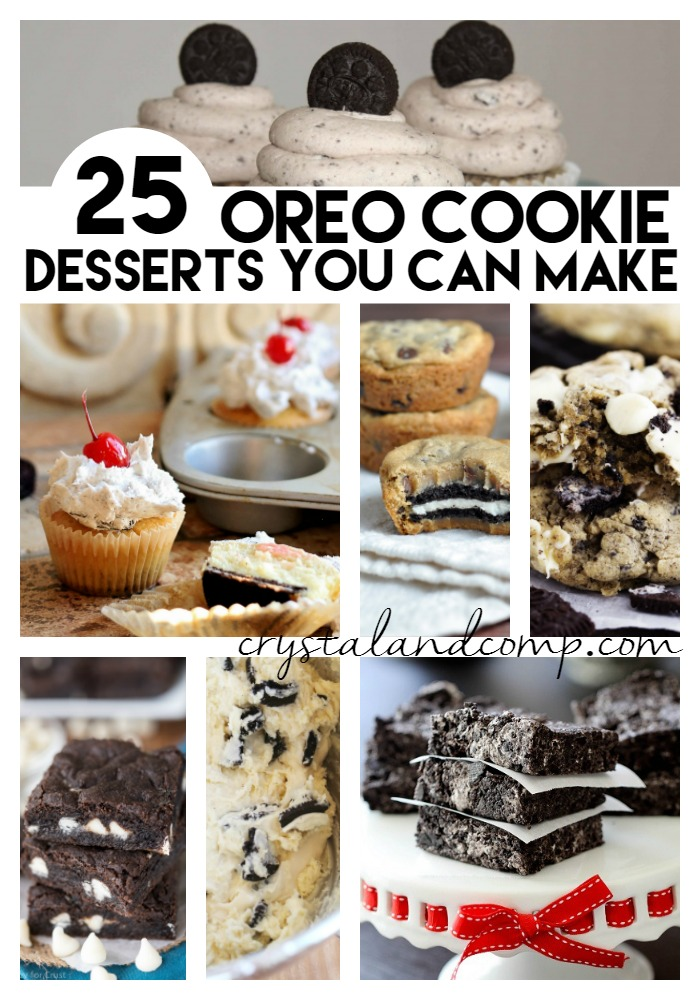 oreo cookie desserts you can make