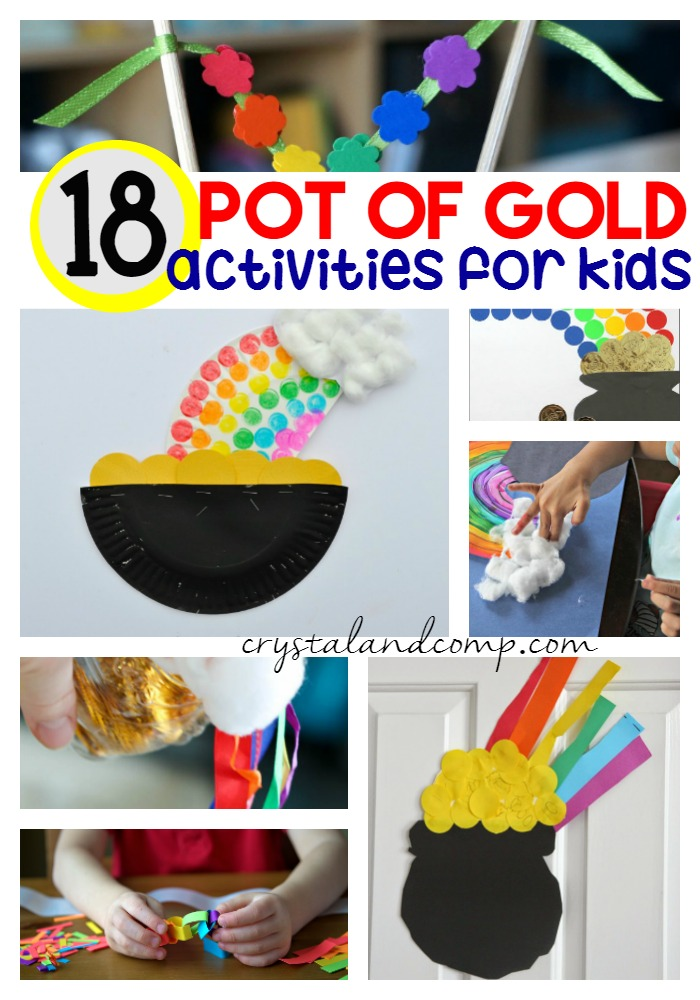 pot of gold activities for kids