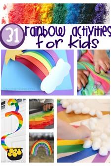31 Color Me Happy Rainbow Activities For Kids