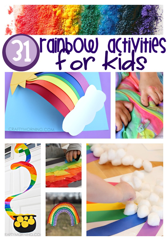 rainbow activities for kids - Colour Activities For Kids
